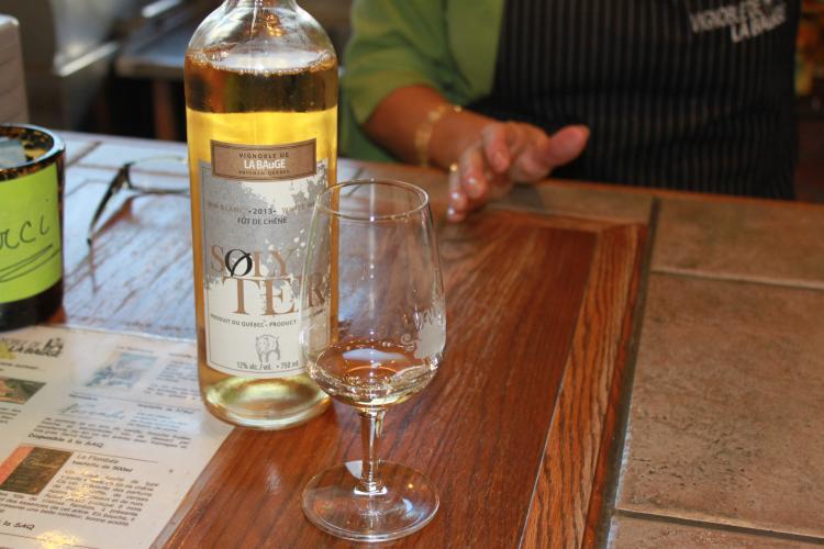Dégustation de vins au Vignoble la Bauge