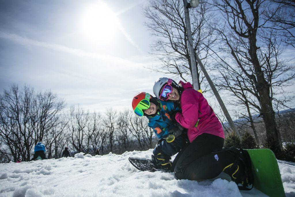 Activité de ski pour la relâche scolaire